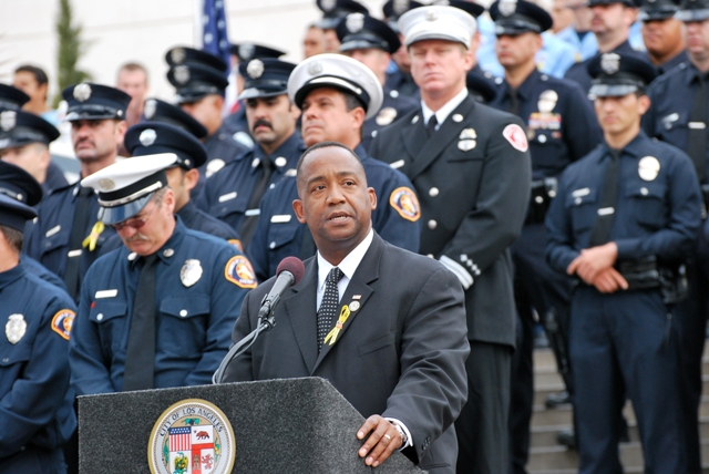 U.S. Attorney Andre Birotte, Jr. at 9-11 Event