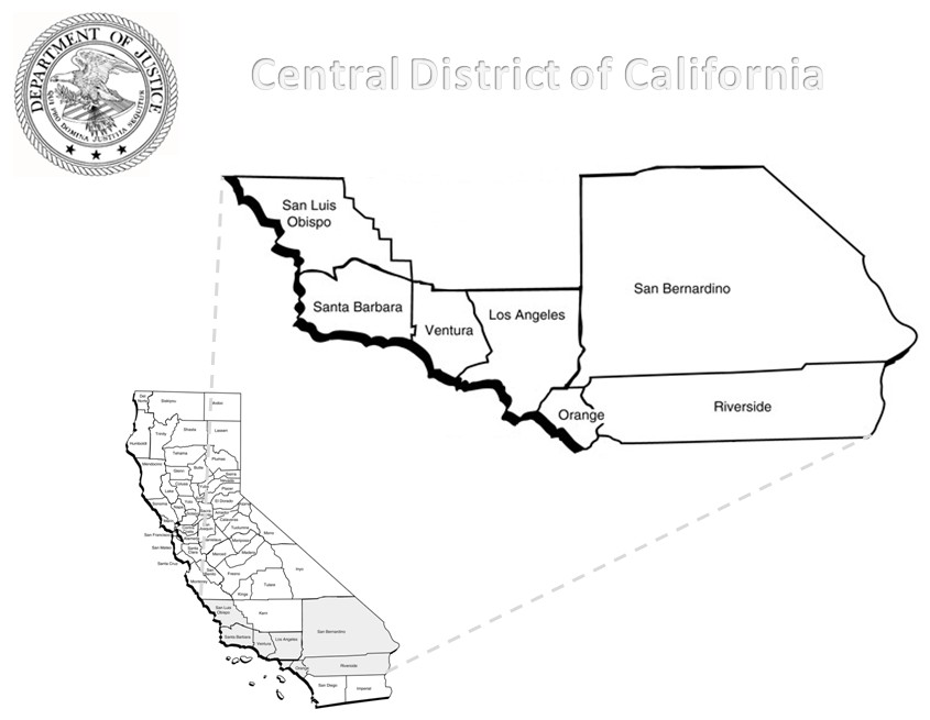 maps of california counties. Map of California.