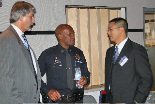Deputy Alameda County District Attorney John Creighton, Captain Ersie Joyner, Oakland Police Department, Craig Chew, Alameda County District Attorney Investigator