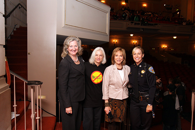 Assistant U.S. Attorney Annemarie Conroy, U.S. Attorney Melinda Haag, ABC News' Cheryl Jennings, SFPD Captain Denise Flaherty