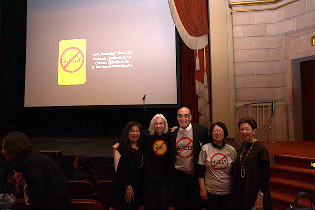 Director of San Francisco Office of Public Engagement and Immigrant Affairs Adrienne Pon, U.S. Attorney Haag, Assistant Superintendent Kevin Truitt, Commission on the Status of Women Executive Director Emily Murase, Cissie Swig