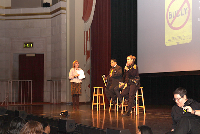 Post screening Q&A moderated by ABC News' Cheryl Jennings with SFUSD Superintendent Richard Carranza, Captain Denise Flaherty, Bully Director and Producer Lee Hirsch