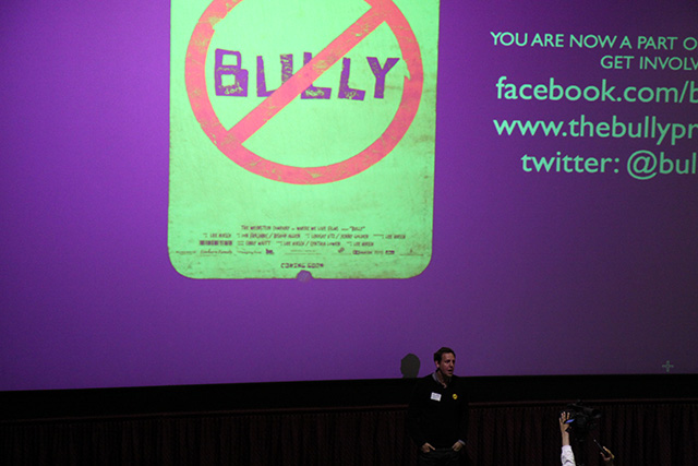 Bully Director and Producer Lee Hirsch discussed his motivation for creating the film