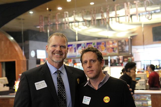 OUSD Superintendent Tony Smith with Bully Director and Producer Lee Hirsch