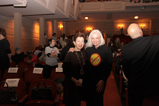 United States Attorney Melinda Haag and Community Leader Cissie Swig