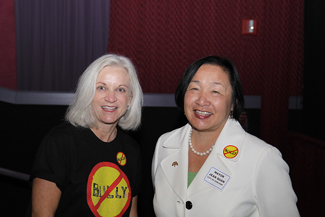 U.S. Attorney Haag with Oakland Mayor Jean Quan