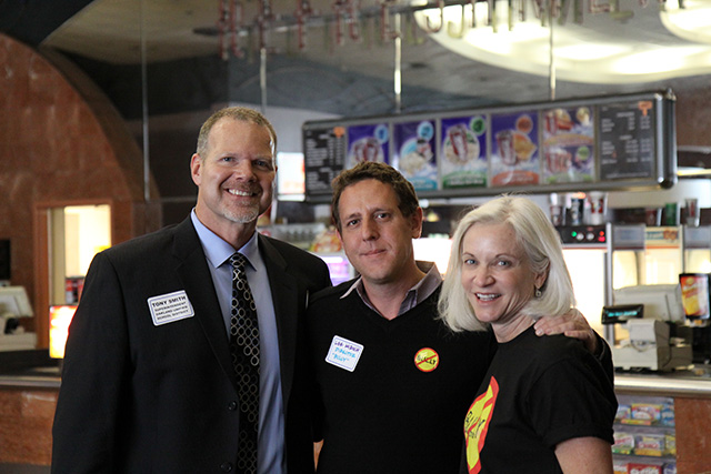 OUSD Superintendent Tony Smith with Bully Director and Producer Lee Hirsch and U.S. Attorney Haag