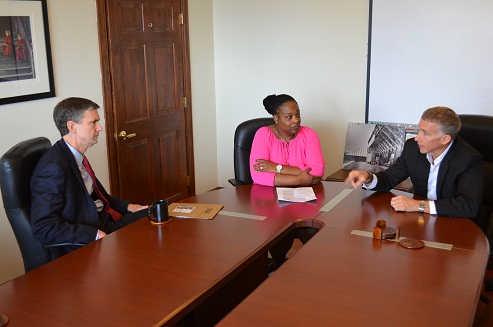 USA meets with ONH staff