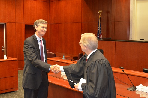 A. Lee Bentley, III sworn in as Acting U.S. Attorney