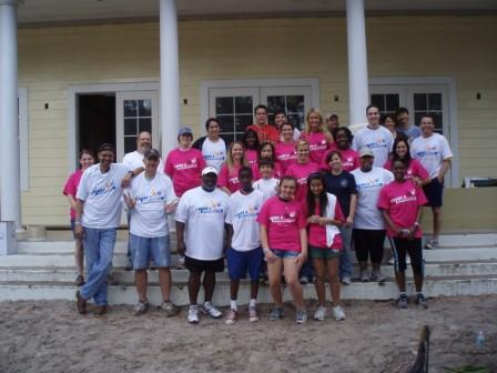 U.S. Attorney Robert O'Neill and Volunteers