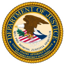 United States Attorney's Office for the Southern District of Florida Seal