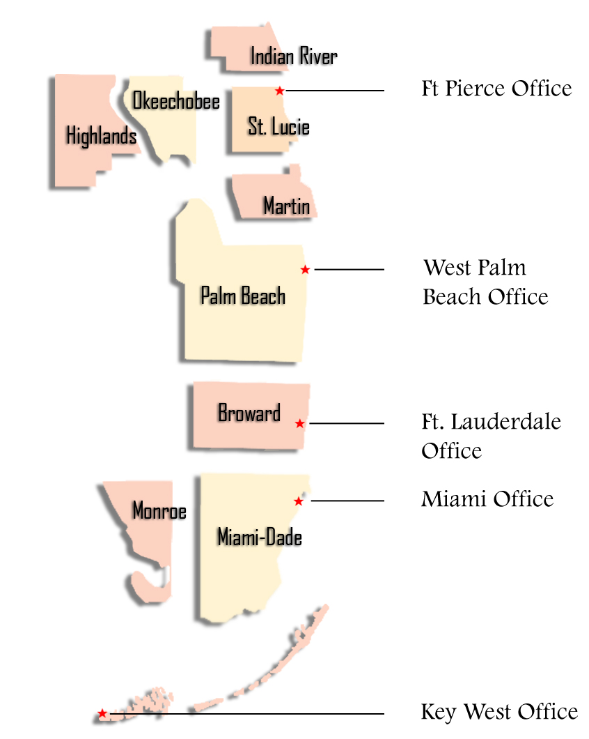 Southern District Of Florida Map About the District