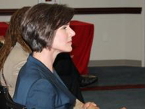 U.S. Attorney Sally Quillian Yates (L), Georgia Governor Nathan Deal (Center), and Assistant U.S. Attorney and Community Outreach Coordinator Loranzo M. Fleming (R) during Summit on Reentry