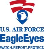 logo for the U.S. Air Force Eagle Eyes