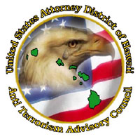 United States Attorney District of Hawaii, Anti Terrorism Advisory Council graphic