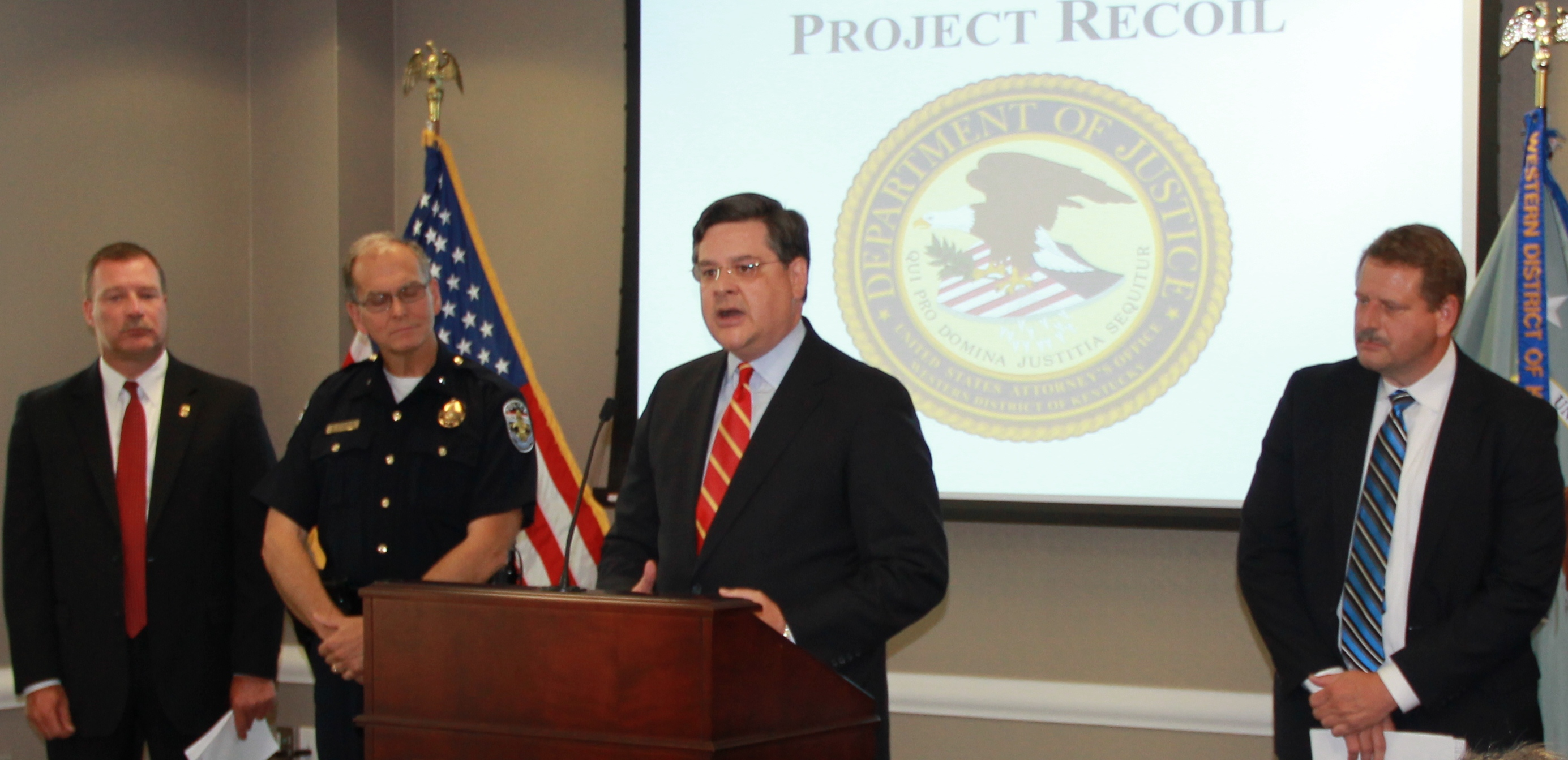 US Attorney David J. Hale - Project Recoil