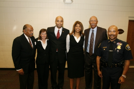 Law enforcement and community leaders join to address youth violence