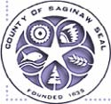 County Seal of Saginaw Logo