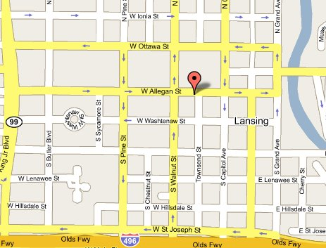 Lansing Branch Office, 315 West Allegan Street, Lansing, Michigan 48933