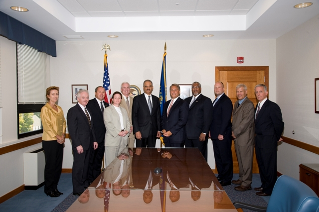 Special Agents-in-Charge meet with Attorney General Eric P. Holder, Jr.