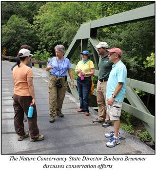 Director Barbabra Brummer discusses conservation efforts