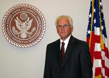 Peter J. Smith, U.S. Attorney for the Middle District of Pennsylvania.