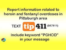 Text PGHOD to Tip411 (847411)