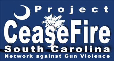 Logo for Project Cease Fire is South Carolina