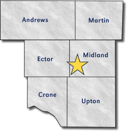 Midland Division Map