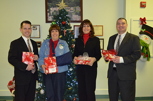 Christmas gifts to St. John's Home for Children