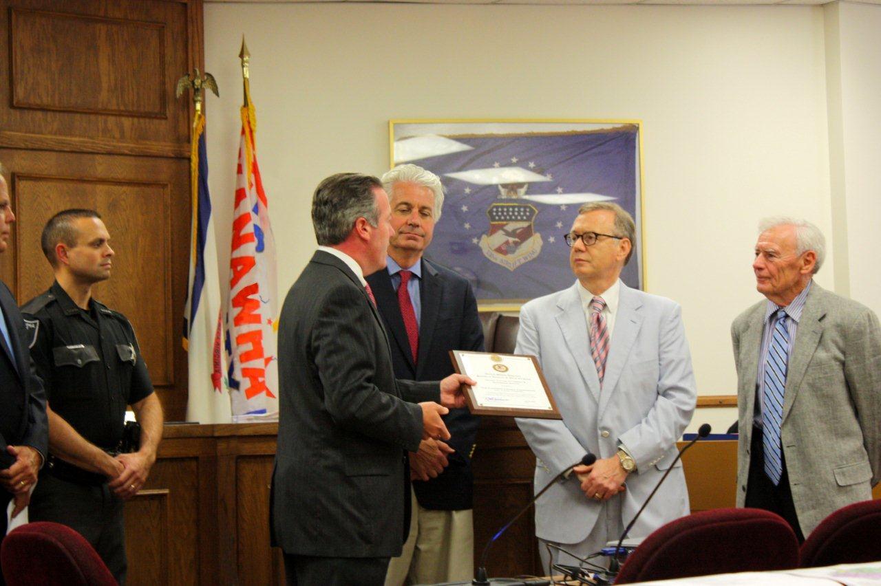Goodwin presents U.S. Attorney's Guardian Award