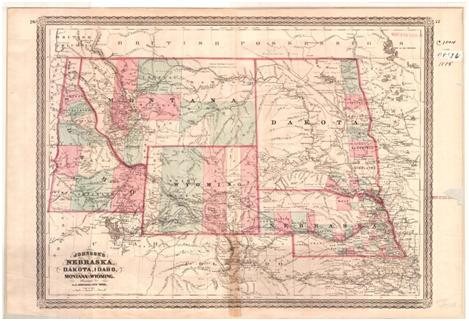About The District USAOWY Department Of Justice - Wyoming us map